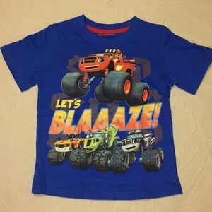 Nickelodeon Blaze T-shirt Sz 4T